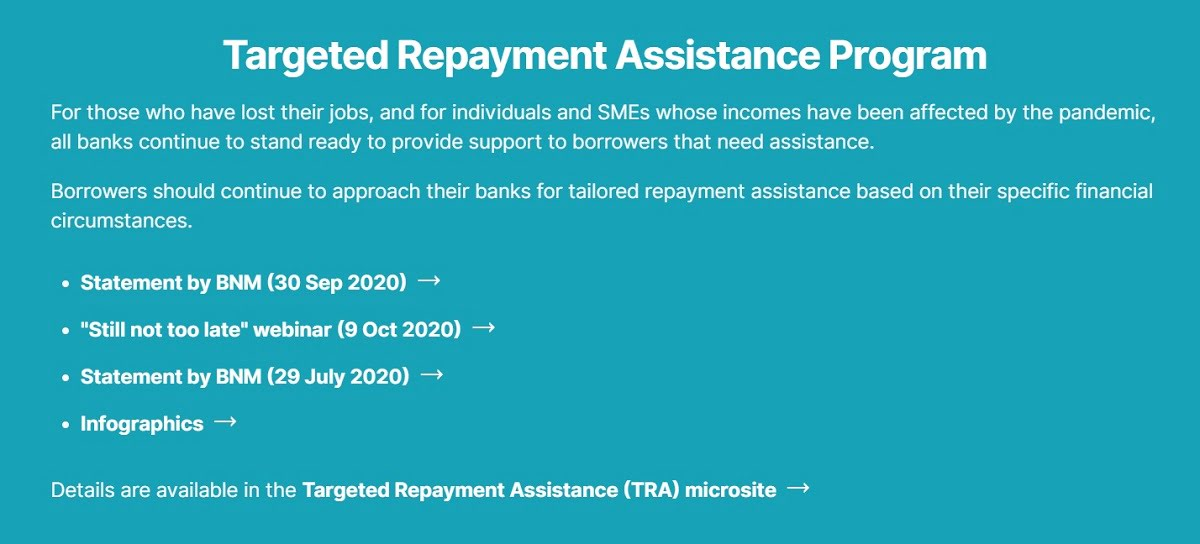 Targeted Repayment Assistance