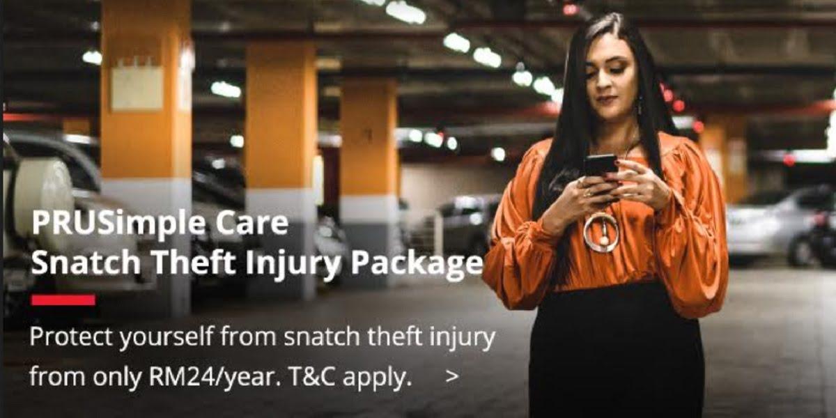 PRUSimple Care Snatch Theft Injury