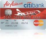 Citi AirAsia-Citi Gold Visa Card