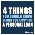 4 Things You Should Know Before You Apply For A Personal Loan