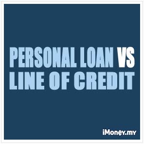Personal Loan Vs Line Of Credit