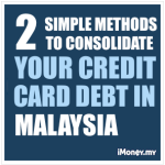 2 Simple Methods to Consolidate Credit Card Debt
