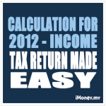 Calculation for 2012 - Income Tax Return Made Easy