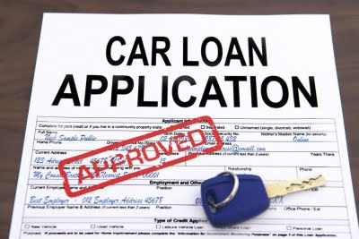 car loan aplication approved