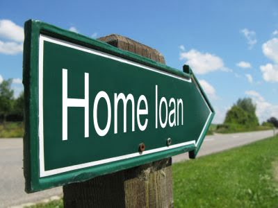 home loan road sign