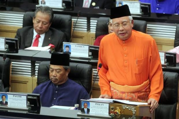 Budget 2014 tabled by the Prime Minister and Finance Minister, Datuk Seri Najib Tun Razak.