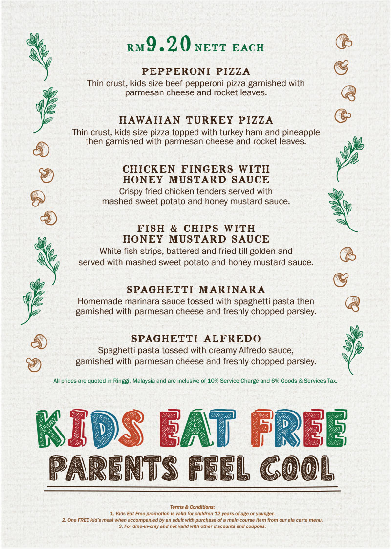 When All Kids Eat For Free >> 13 Places In Malaysia Where Kids Can Eat For Free Updated
