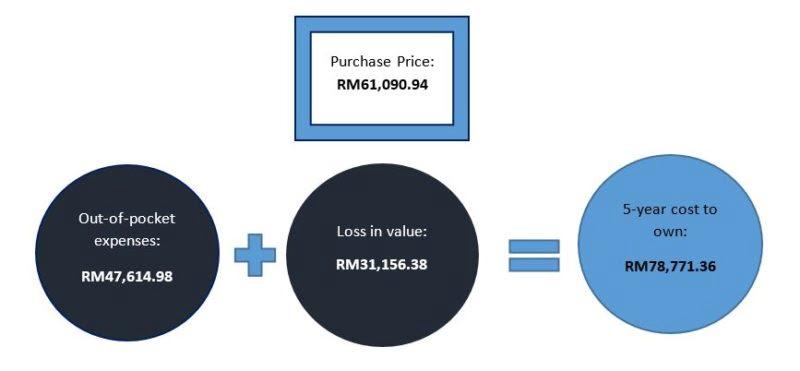 Vehicle cost gfx