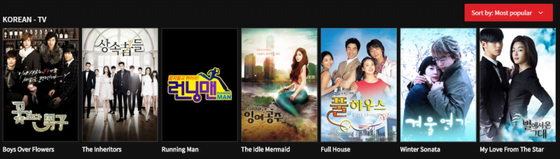 iflix korean