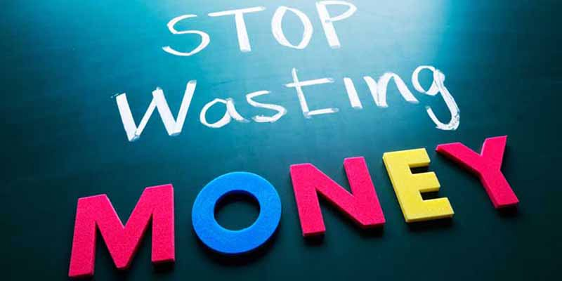 How To Stop Wasting Money In 2016