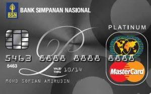 BSN Platinum MasterCard