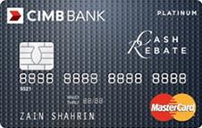 CIMB Cash Rebate Platinum