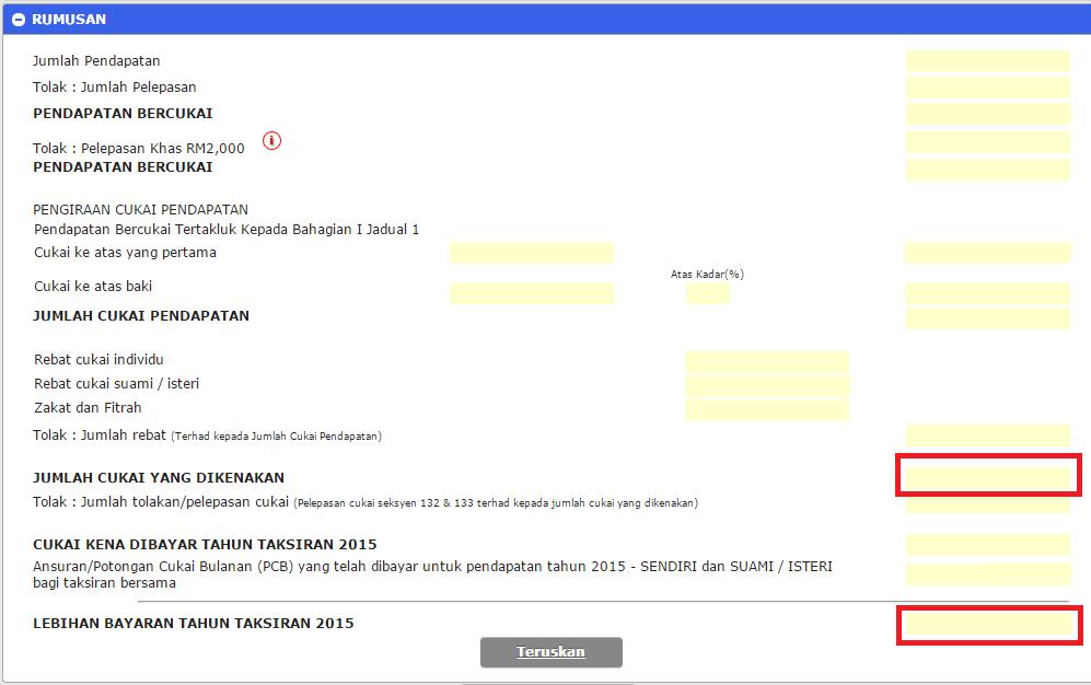 e-filing income tax