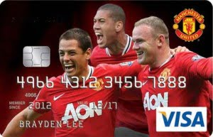 maybank manchester united visa card
