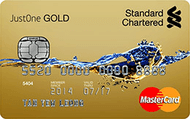 Standard Chartered JustOne Gold MasterCard