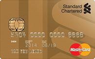 Standard Chartered Gold Cashback MasterCard