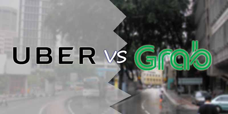 Image result for grab vs uber