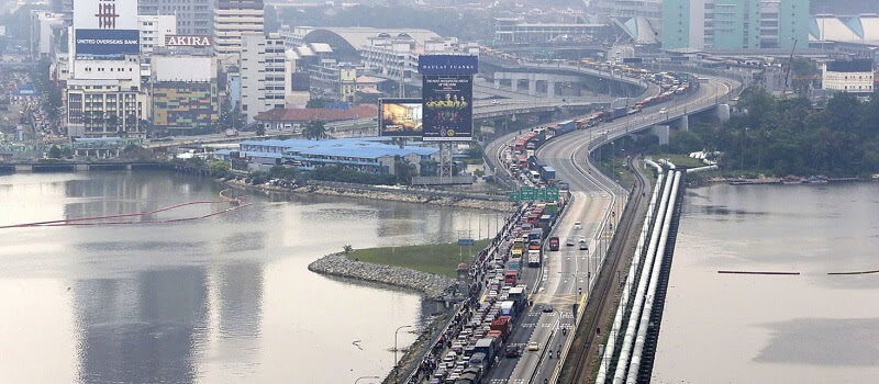Causeway Price Wars: Singapore To Match Malaysia Toll-For-Toll!