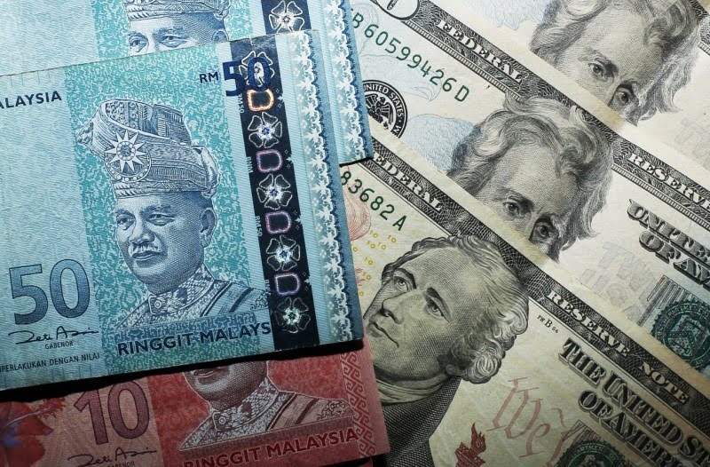 US Dollar (USD) to Malaysian Ringgit (MYR) exchange rate history