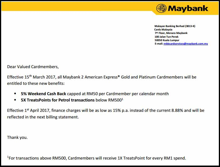 Maybank 2 cards new benefits