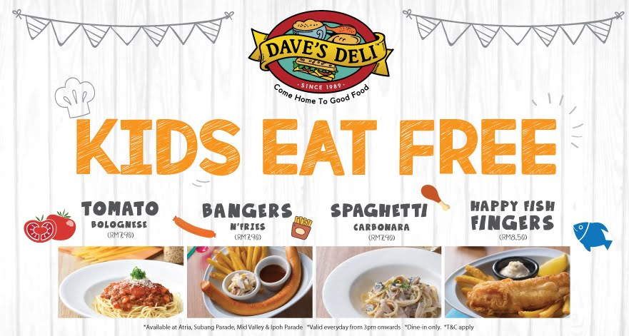 13 Places In Malaysia Where Kids Can Eat For Free Updated