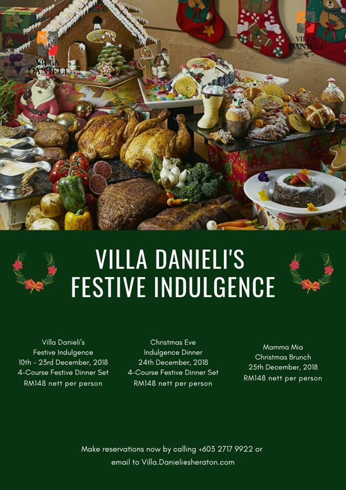 villa danieli christmas dinner