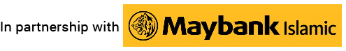 in partnership with Maybank Islamic