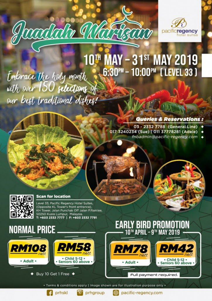 10 Places For Ramadan Buffets In Kl Pj Imoney