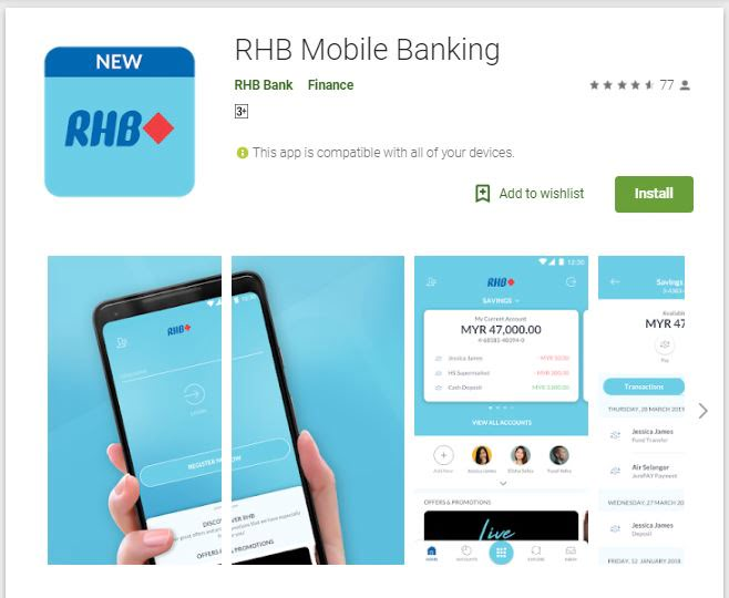RHB Introduces New Mobile Banking App