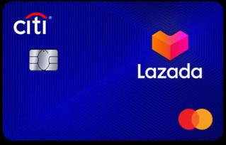 Lazada Citi card