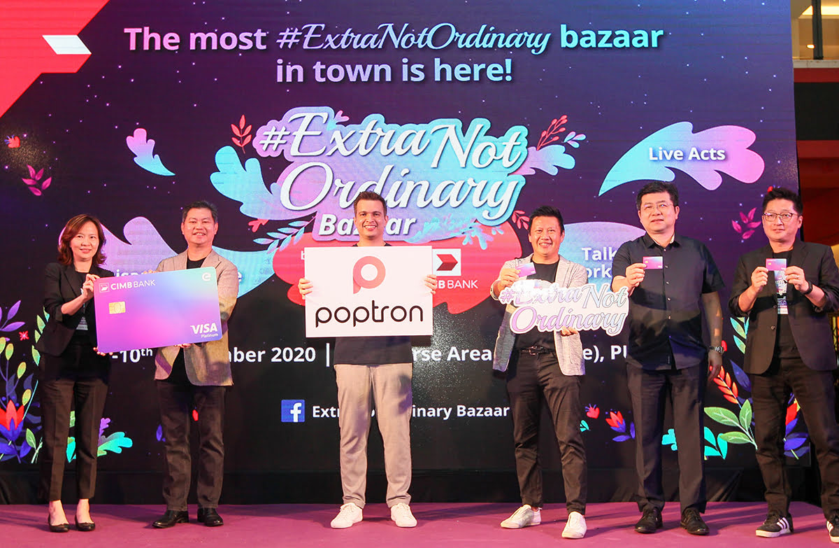 CIMB And Poptron Host Bazaar To Empower Over 100 Micro Brands