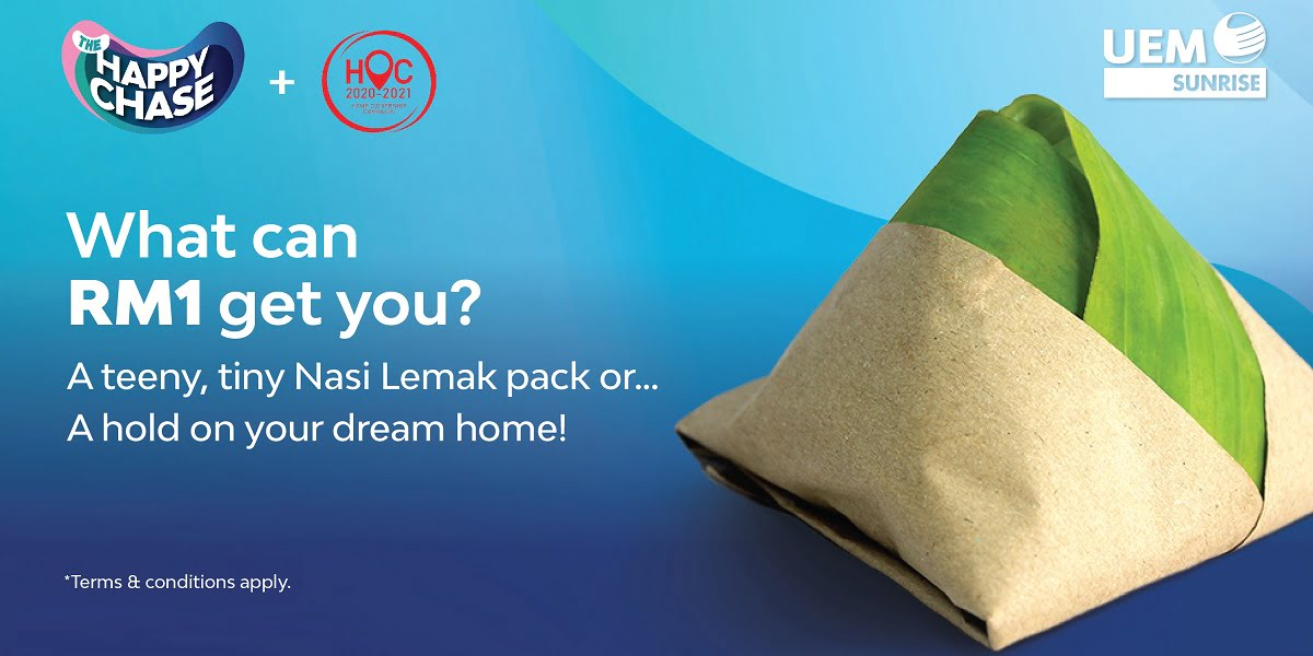Get Your Dream Home With Only RM1