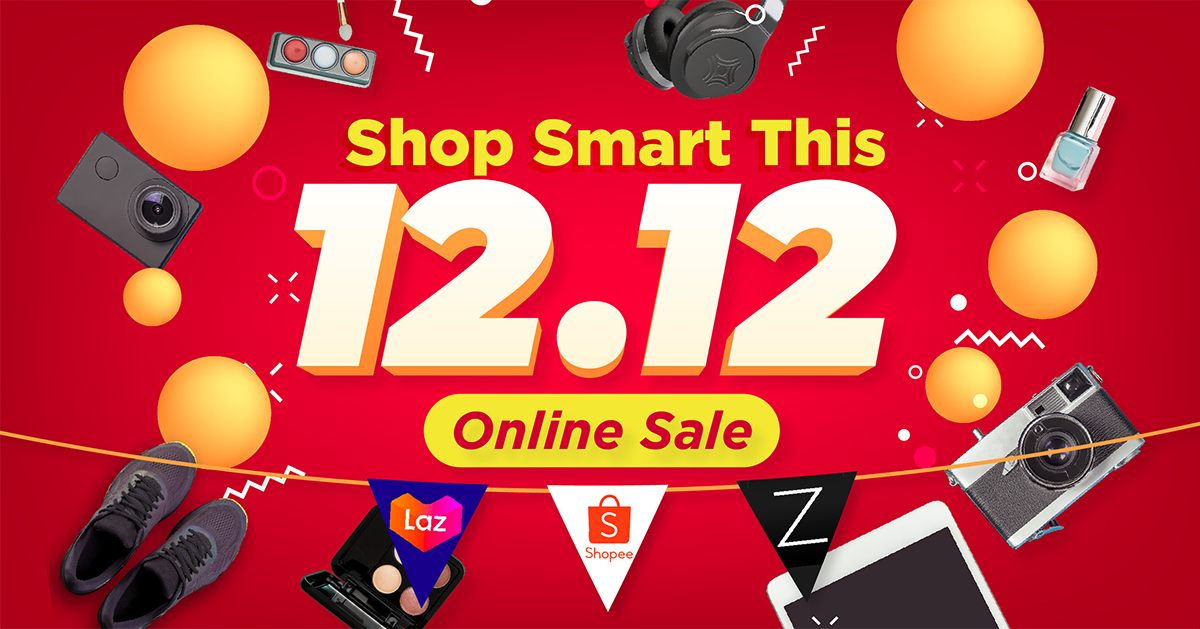 Lazada, Shopee And Zalora 12.12 Promo Codes And Vouchers