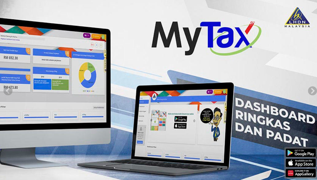 What Can You Do With The New LHDN MyTax Site