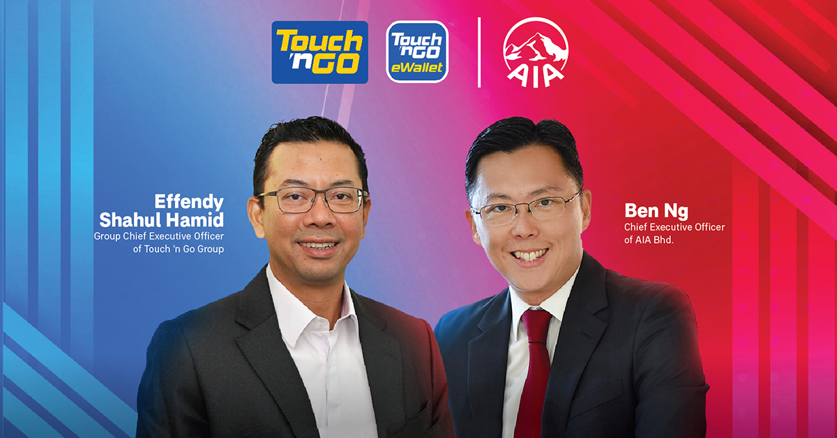 AIA Partners With Touch 'n Go eWallet To Provide Digital Insurance