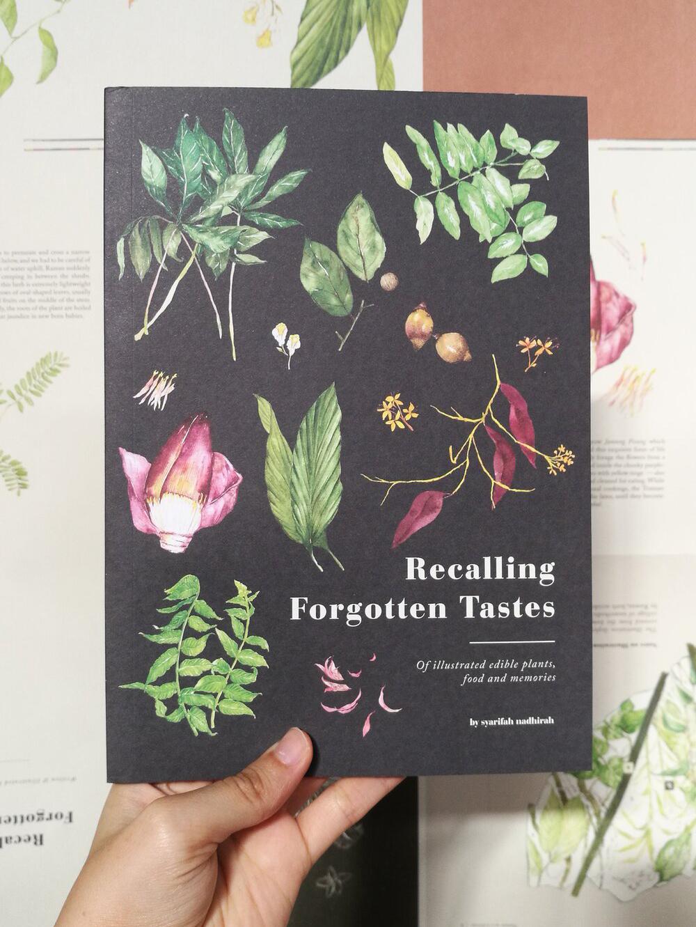 Recalling Forgotten Tastes book cover