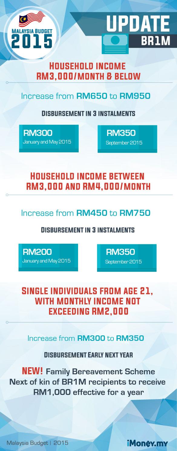 Budget 2015 - BR1M