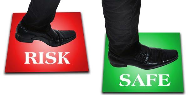 Red-Risk-Green-Safe-Steps