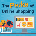 The Perks Of Online Shopping [Infographic]