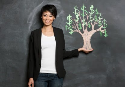 women money tree